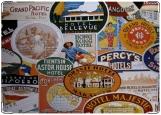 Обложка на паспорт с уголками, Travel Stikers