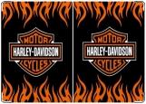 Обложка на паспорт, Harley Davidson