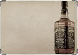 Обложка на паспорт с уголками, Jack Daniel's
