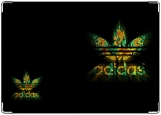 Обложка на паспорт с уголками, adidas