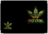 Обложка на автодокументы с уголками, adidas