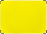 Обложка на паспорт с уголками, Желтая