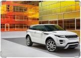 Обложка на автодокументы с уголками, Range Rover Evoque