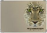 Обложка на паспорт с уголками, Leopard