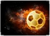 Блокнот, огненный мяч