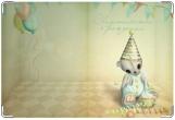 Обложка для свидетельства о рождении, Happy Birthday