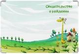 Обложка для свидетельства о рождении, Сказочная страна