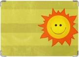 Блокнот, солнце