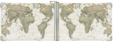 Зажим для денег, Карта мира