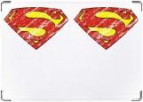 Обложка на паспорт с уголками, супермен1
