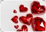 Обложка для свидетельства о рождении, Рубиновые сердца