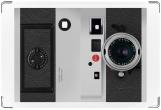 Обложка для свидетельства о рождении, Фотоаппарат Leica
