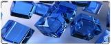 Кошелек, Синие кубики.