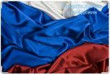 Обложка для свидетельства о рождении, шелк флаг