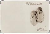 Обложка для свидетельства о рождении, Цветы жизни