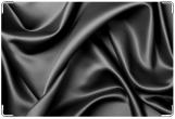Обложка для свидетельства о рождении, шелк черный
