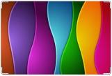 Обложка для свидетельства о рождении, радуга