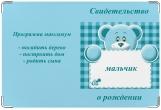 Обложка для свидетельства о рождении, Программа максимум