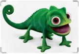 Обложка для свидетельства о рождении, хамелеон-который лягушка
