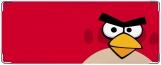 Обложка на студенческий, Angry Birds Red