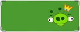 Обложка на студенческий, Angry Birds Green