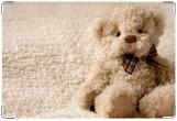 Обложка для свидетельства о рождении, Плюшевый мишка