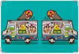 Обложка для свидетельства о рождении, Фургон с мороженым