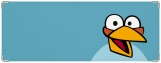 Обложка на зачетную книжку, Angry Birds Blue