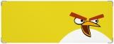 Обложка на зачетную книжку, Angry Birds Yellow