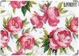 Блокнот, Розовые цветы