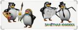 Обложка на зачетную книжку, пингвины
