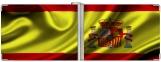 Зажим для денег, флаг Испания