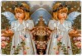 Обложка для свидетельства о рождении, Ангелочек.