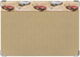 Обложка на автодокументы с уголками, Корветт
