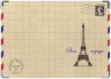 Обложка на паспорт с уголками, Бон Вояж