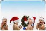 Обложка для свидетельства о рождении, Новогодний подарок.
