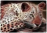 Блокнот, леопард
