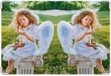 Обложка для свидетельства о рождении, Маленький ангел.