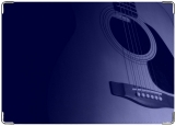 Обложка на паспорт с уголками, гитара