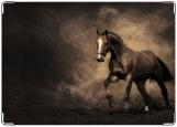 Обложка на трудовую книжку, конь