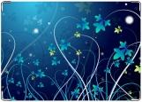 Блокнот, цветы ночью