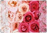Обложка на медицинскую книжку, Розы