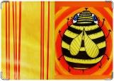 Обложка на трудовую книжку, пчела
