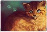 Обложка на ветеринарный паспорт, Лисичка