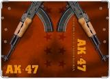 Обложка на военный билет, АК 47