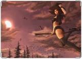 Обложка на трудовую книжку, witch