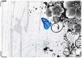 Обложка на трудовую книжку, Бабочка