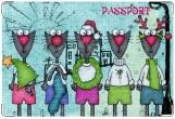 Обложка на ветеринарный паспорт, Коты