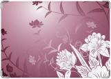 Обложка на трудовую книжку, цветы