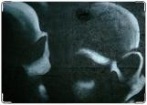 Обложка на трудовую книжку, череп